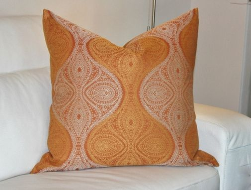 Custom Made In Vogue: Ginger And Spice Motif Pillow (20x20)