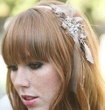 Custom Made Messy Bow Headband For Woman, Hair Accessories