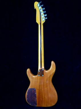 "Custom Made Blueberry Electric ""Golden Dragon"" Guitar"