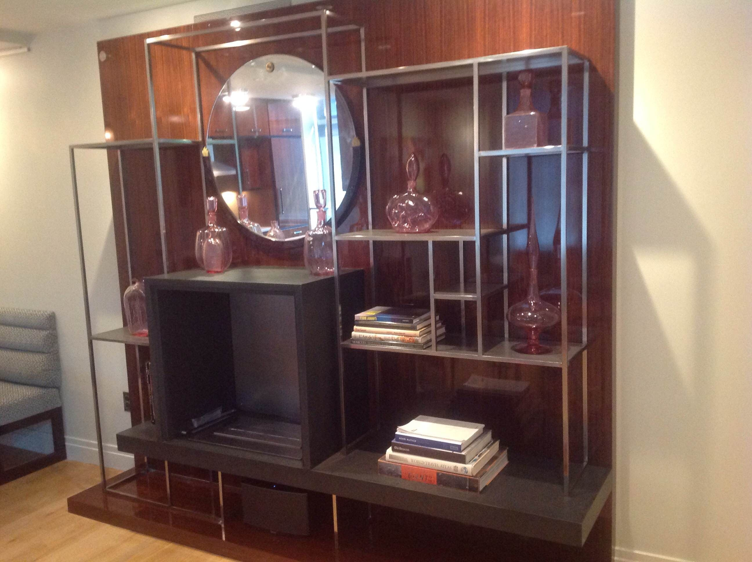 Custom Made Stainless Steel Wall Unit by Elite Design & Fabrication ...