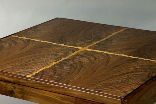 Custom Made Contemporary Art Nouveau Game Table