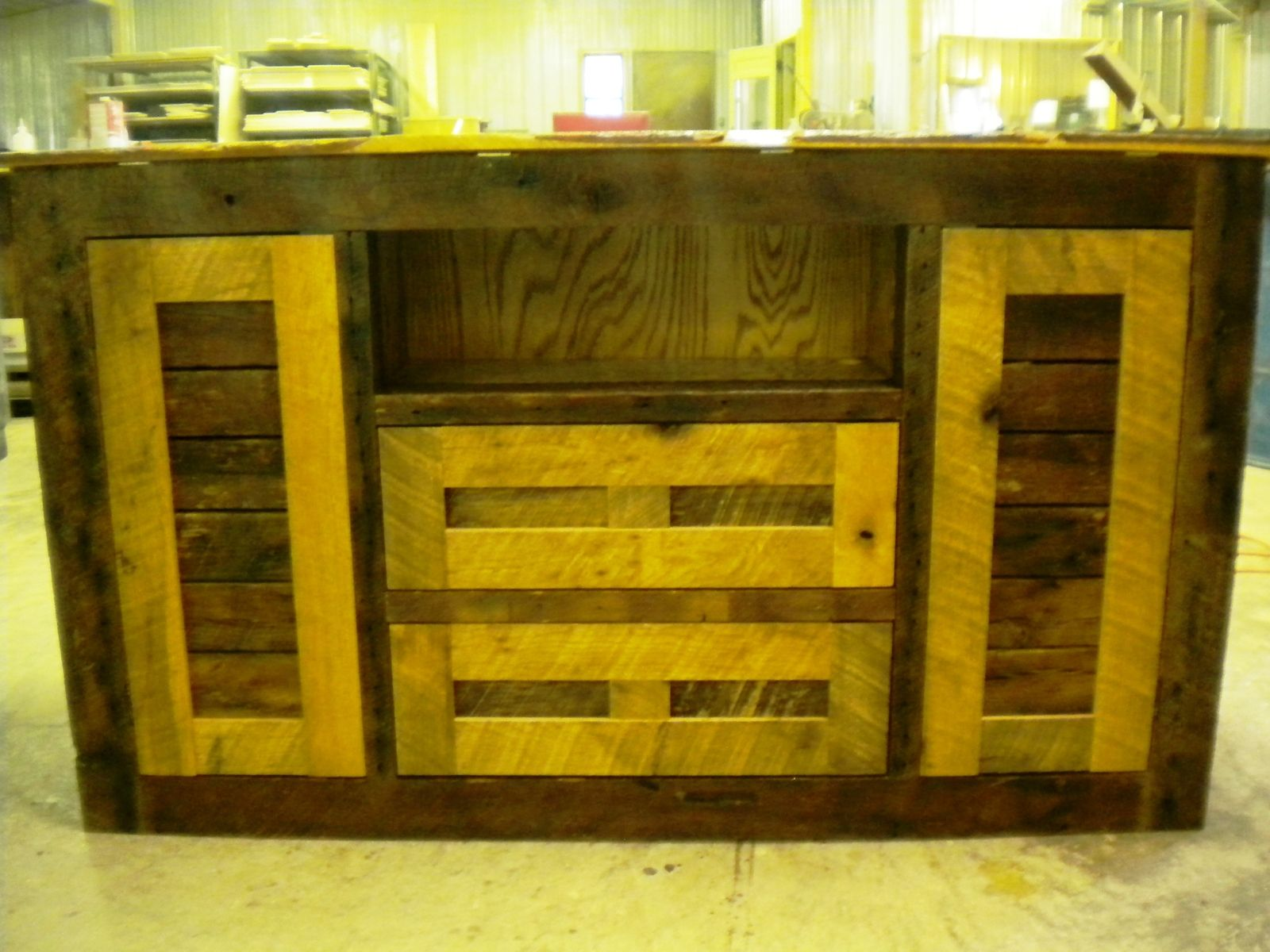 Hand Crafted Tv Lift Cabinet With Secret Gun Storage by Mh Woodworks ...