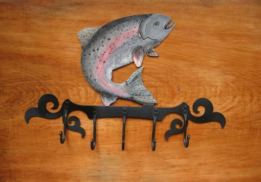 Custom Made Handcrafted Fish Coat Rack