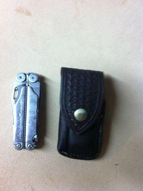 Custom Made Leatherman Tool Bit Case