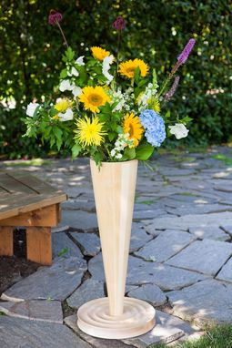 Custom Made Large Flower Vase
