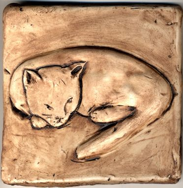 Custom Made Cat Tiles