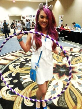 Custom Made Rarity Style Weighted Travel Hula Hoop - My Little Pony Custom Design