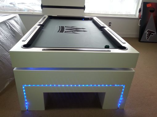Custom Made (Cosmic)  Billiard Pool Table !