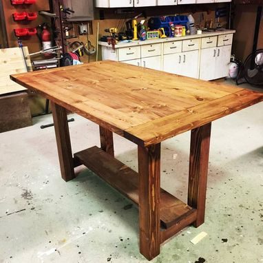 Custom Made Kitchen Island / Chopping Station / Table