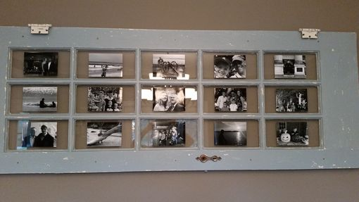 Custom Made French Door Picture Frame