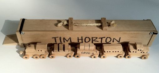 Custom Made Custom Wooden Toy Train Sets