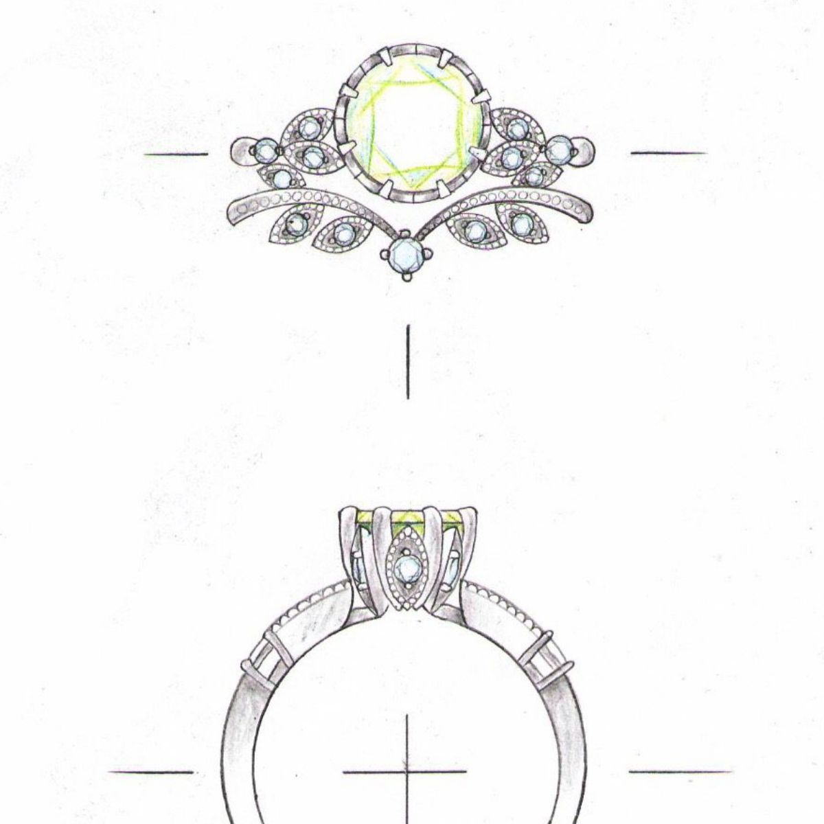 Opal Engagement Rings Custommade Com