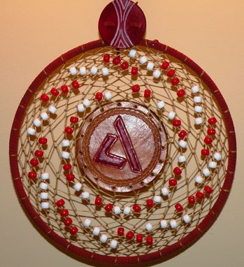 Custom Made American Diabetes Association Logo Dreamcatcher