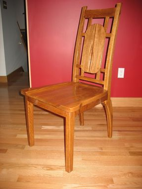 Custom Made Oak Dining Chair