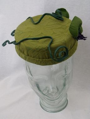 Custom Made Pillbox Perch Hat
