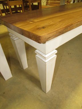Custom Made Vintage Style Farm Table