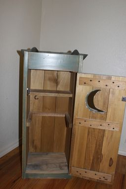 Custom Made Bathroom Cabinet, Outhouse