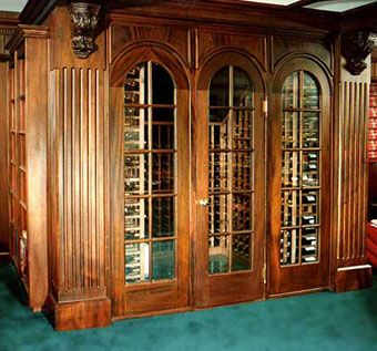 Custom Made Wine Cellar/Home Office