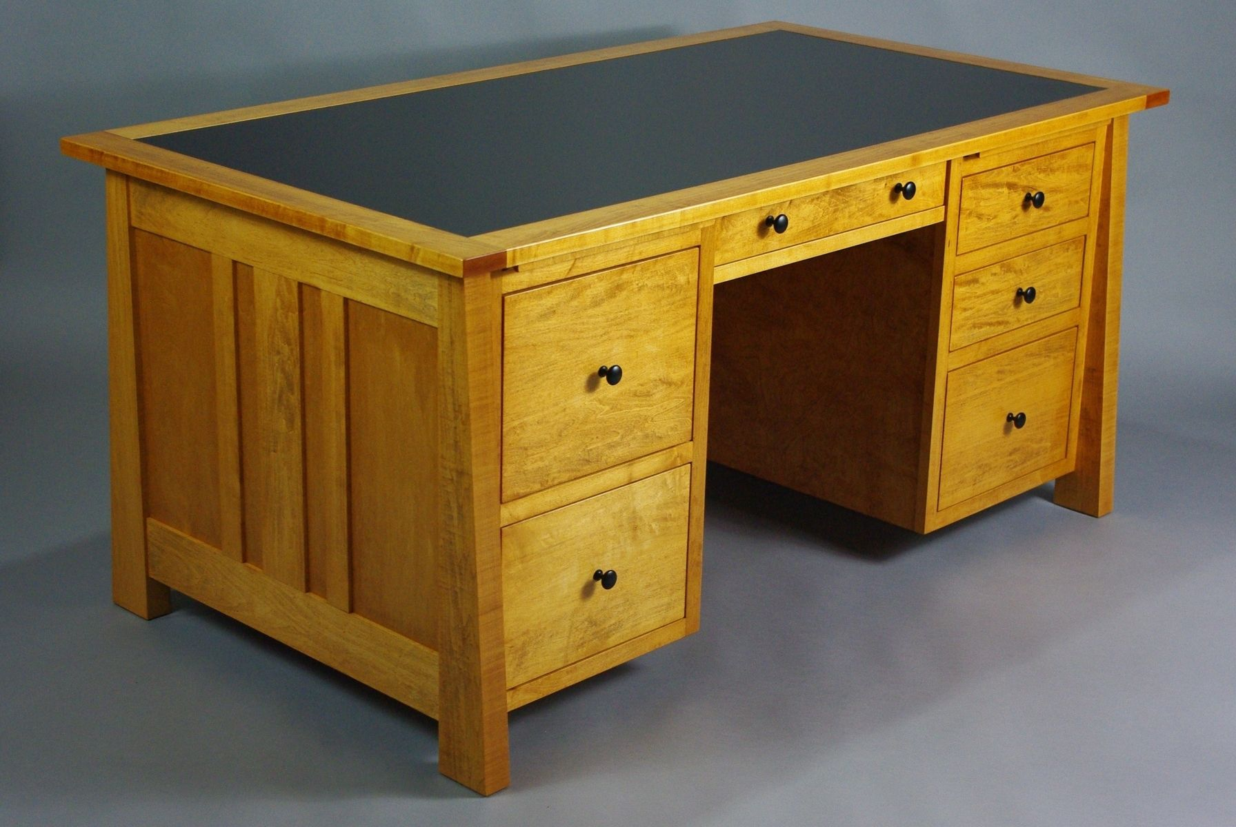 Custom Home Office Desk by Rugged Cross Fine Art ...