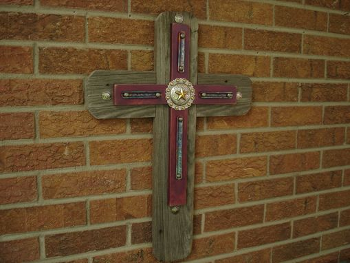 Custom Made Mixed Media Cross