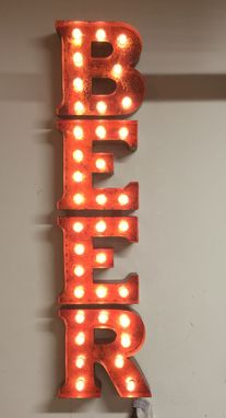 Custom Made Vintage Marquee Light