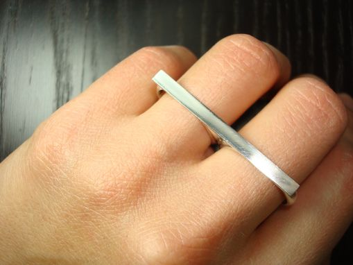 Custom Made Two Finger Ring.