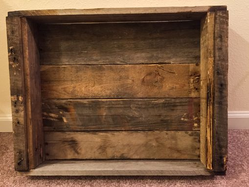 Custom Made Hand Crafted Pallet Decorative Tray