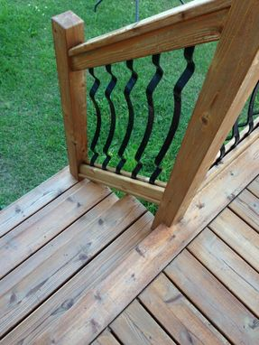 Custom Made Cedar Deck