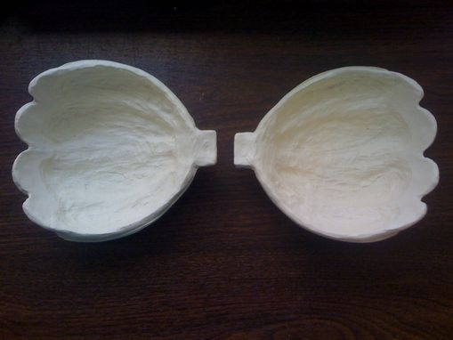 Custom Made Ariel Resin Shells Blank Set - Size Small (Fits Size A-B Cups)