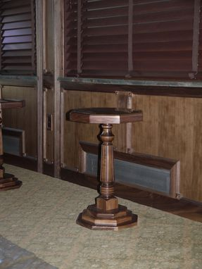 Custom Made Walnut Paneled Train-Car