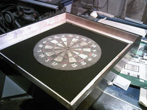 Custom Made Custom Dartboard Case