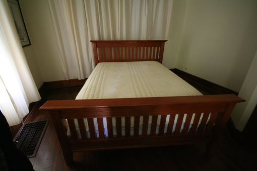 Custom Made Mission / Shaker / Style Bed