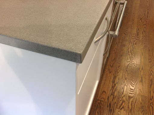 Custom Made Concrete Countertops With Concrete Prep Sink