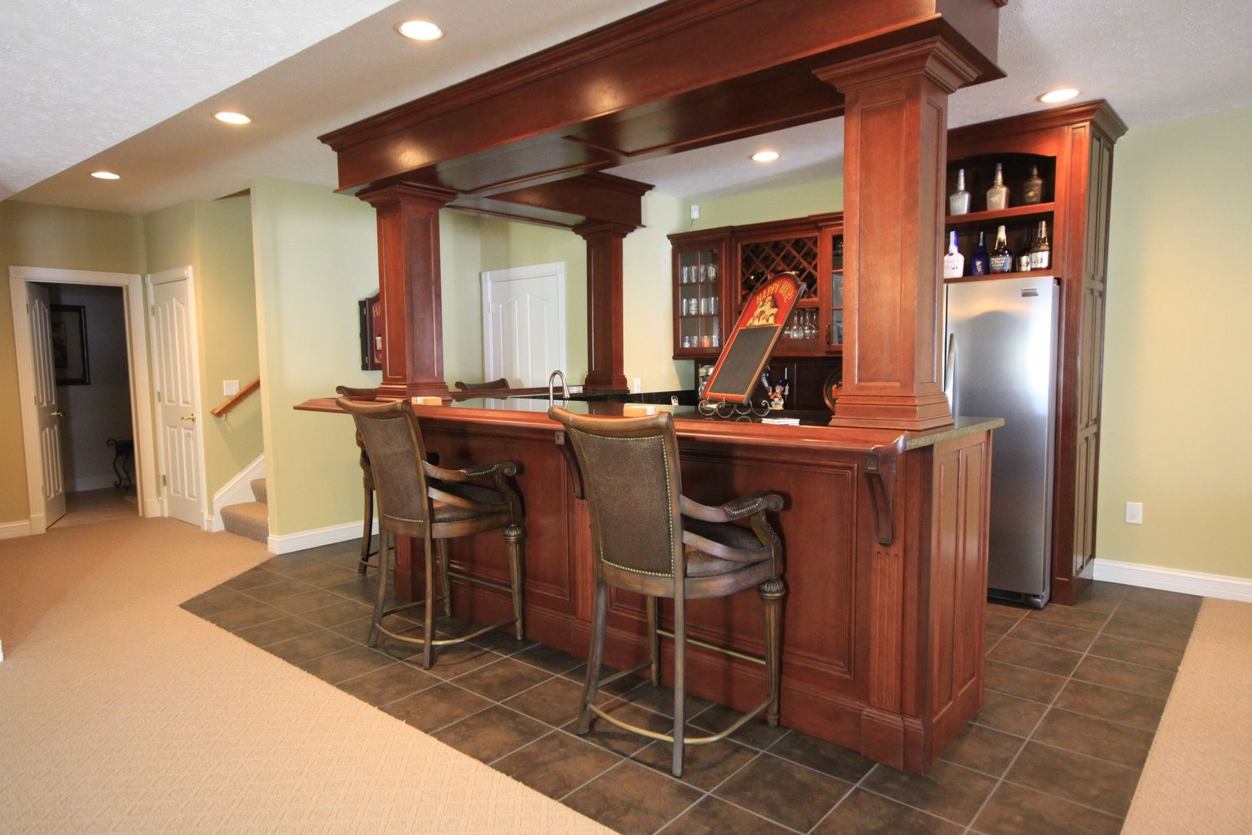Custom Wet Bar By Walters Cabinets Inc Custommade Com