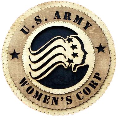 Custom Made U.S Army Women,S Crop Wall Tribute, U.S Army Women,S Crop Hand Made Gift