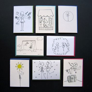 Custom Made Random Notes Of Kindness Greeting Card Set