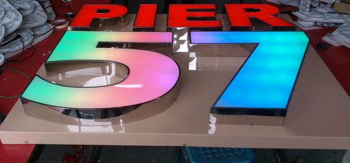 Custom Made Illuminated Channel Letters