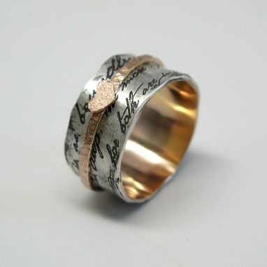 Custom Made Juliet Spinner Ring