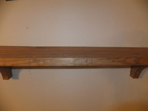 Handmade Reclaimed Wood Shelf By Thh Creations