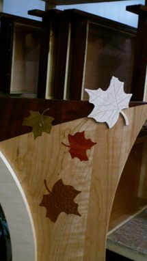 Custom Made Falling Leaf Custom Vanity