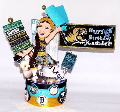 Custom Made Sweet Sixteen Gifts, Sweet Sixteen Cake Topper, Teenager Gifts, Birthday Cake Topper