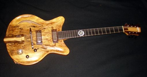 Custom Made The Sheriff - Thinline Electric Guitar