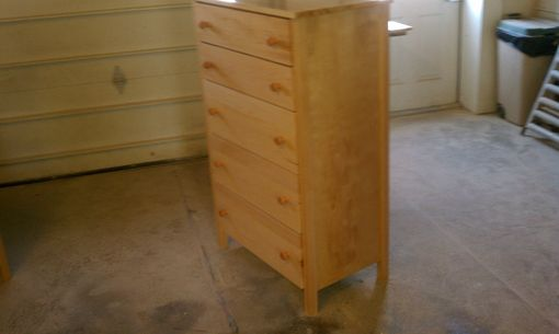 Custom Made 5 Drawer Chest