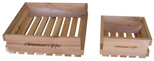 Custom Made Gift Crates Customized To Fit Your Needs