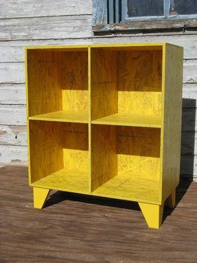 Custom Made Osb Cubby Bookcase Colors