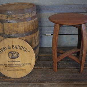 New Wine Barrel Dining Room Table
