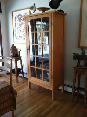 Custom Made Dining Room China Cabinet