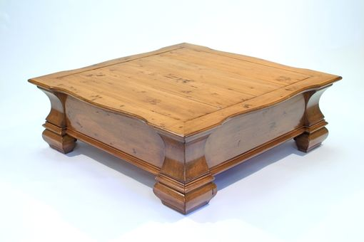 Custom Made Coffee Table By Robert Seliger