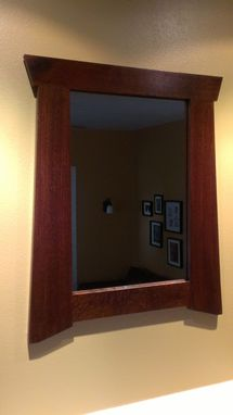 Custom Made Craftsman Mirror - The Rosemont