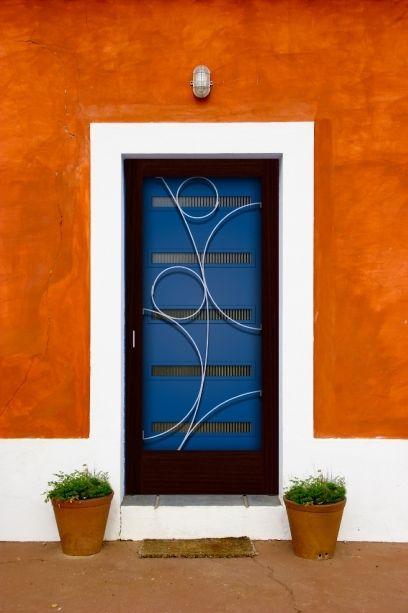 Custom Crestview Screen Doors With Grillwork By Susan